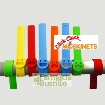 Moskinets Click Clack Pulsera antimosquitos