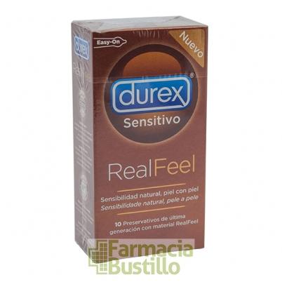 Durex Preservativos Real Feel Sensitivo Sin Latex 10 Ud  CN 157348