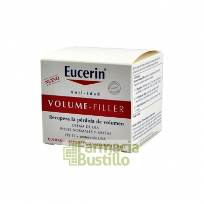EUCERIN Volumer Filler Crema de Dia Pieles Normales y Mixtas FPS 15 50ml