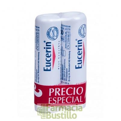 EUCERIN pH5 DUPLO Protector Labial Piel Sensible 4,8g