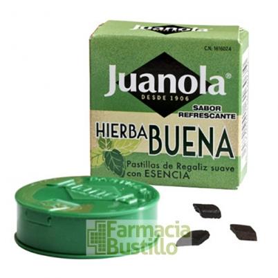 Pastillas JUANOLA Hierbabuena  5,4g