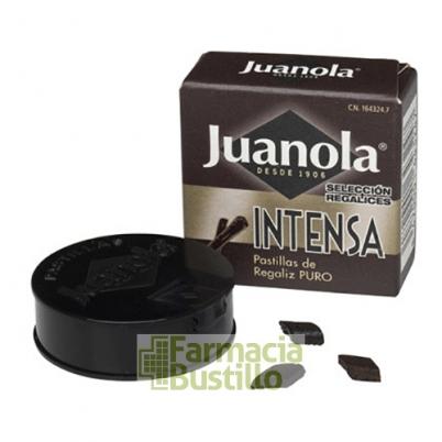 Pastillas JUANOLA Caja Negra Sabor Intenso  5,4g