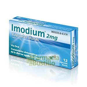 Imodium 2mg 12 Capsulas Duras