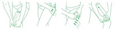 masaje Elancyl desarrollado por un kinesiterapeuta