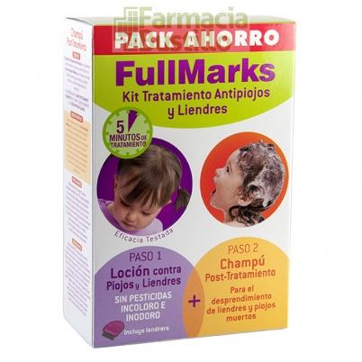 FullMarks Solución Contra Piojos sin pesticidas 100ml + Champu Post Tratamiento