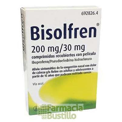 Bisolfren comprimidos recubiertos con película 20 comprimidos