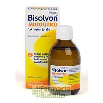 Bisolvon Mucolítico 1,6 mg/ ml jarabe 200ml