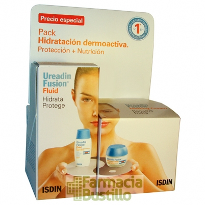 Isdin Pack Ureadin Fusion Fluid Hidrata Protege