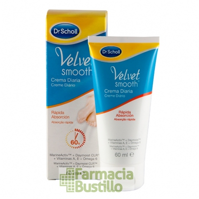 Dr Scholl Velvet Smooth Crema Diaria de Rápida Absorción 60ml