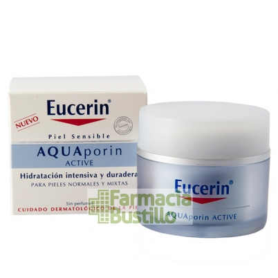 EUCERIN Aquaporin Active Crema Hidratante Ligera Piel Normal y Mixta 50ml