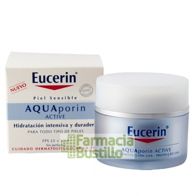 EUCERIN Aquaporin Active Crema Hidratante SPF 25 Piel Normal 50ml