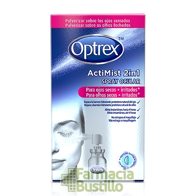 Optrex Actimist Spray 2 en 1 para ojos secos e irritados