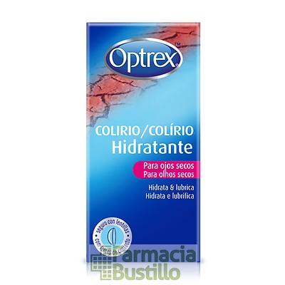 Optrex Colirio Hidratante para ojos secos hidrata y lubrica