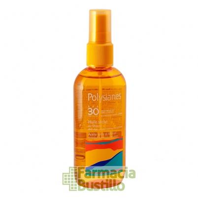 POLYSIANES Aceite Seco Protección alta SPF 30   Spray 125ml