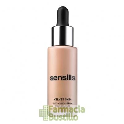 Sensilis VELVET SKIN Base de Maquillaje Antiedad 30ml