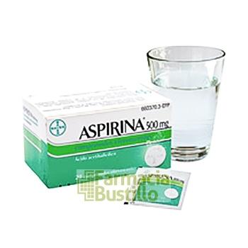 ASPIRINA 500 mg 20 Comprimidos Efervescente CN 660370