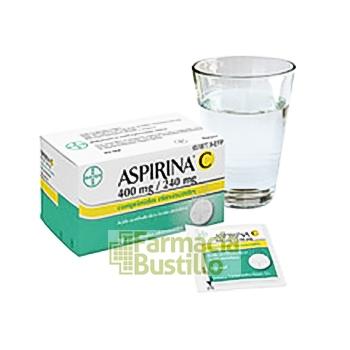 ASPIRINA C 400 mg/240 mg 20 Comprimidos Efervescentes CN 651877