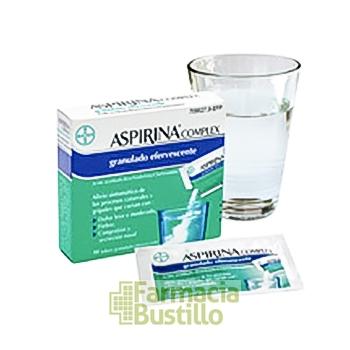 ASPIRINA COMPLEX 10 Sobres Granulado Efervescente CN 709527