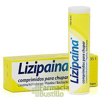 LIZIPAINA 20 comprimidos para chupar CN 781435