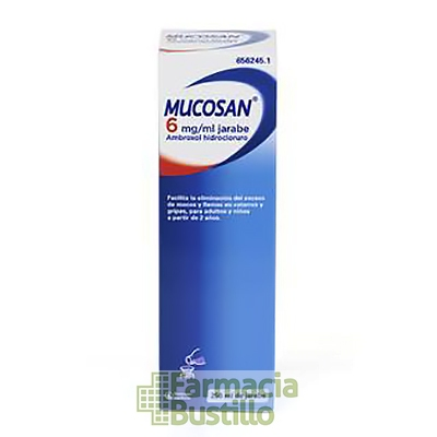 MUCOSAN 6mg/ml Jarabe 250ml CN 656245