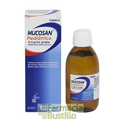 MUCOSAN Pediatrico 3mg/ml Jarabe 200ml CN 756833