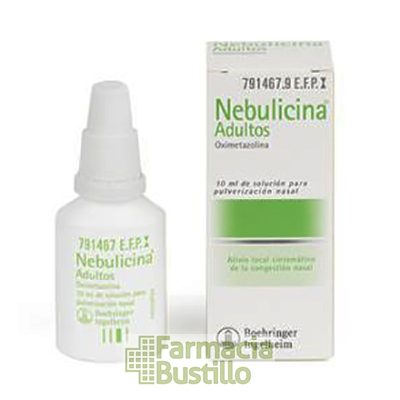 NEBULICINA 0,5mg/ml Adultos pulverizador nasal descongestivo 10ml CN 791467