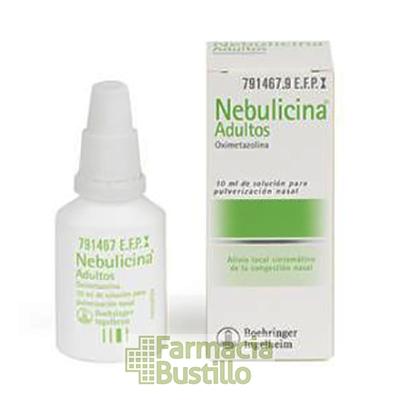 NEBULICINA 0,5mg/ml Adultos pulverizador nasal descongestivo 10ml CN 791467