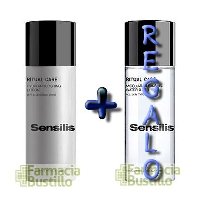 Sensilis RITUAL CARE Loción Hidro-Nutritiva Pieles Secas + REGALO  Agua Micelar Limpiadora 3 en 1