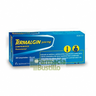 TERMALGIN 500mg 20 comprimidos