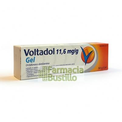 VOLTADOL 11,6 mg/g GEL 1 tubo de 60 g