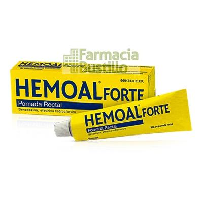 HEMOAL FORTE POMADA RECTAL 1 tubo de 50 g