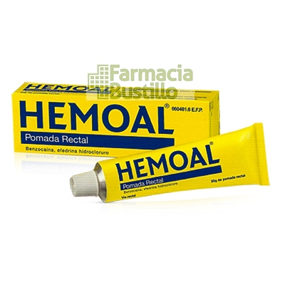 HEMOAL POMADA RECTAL 1 tubo de 30 g