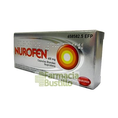 NUROFEN 400 mg Capsulas Blandas