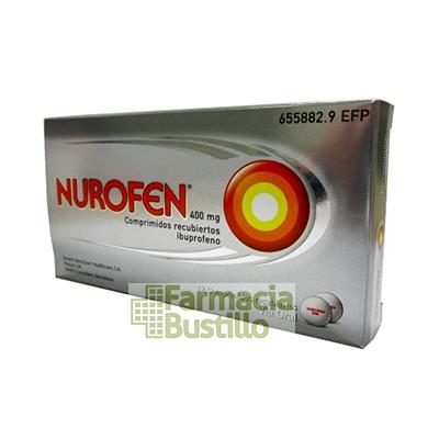 NUROFEN 400 mg Comprimidos Recubiertos 12 comprimidos