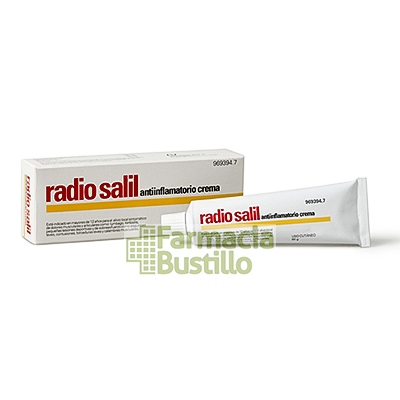 RADIO SALIL Antiinflamatorio crema tubo de 60 g