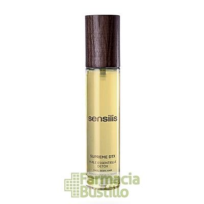 Sensilis SUPREME Aceite DTX Detox Regenerador y Antioxidante 50ml CN 178835