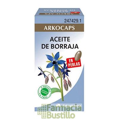Arkocapsulas Aceite de Borraja y Vitamina E 50 perlas