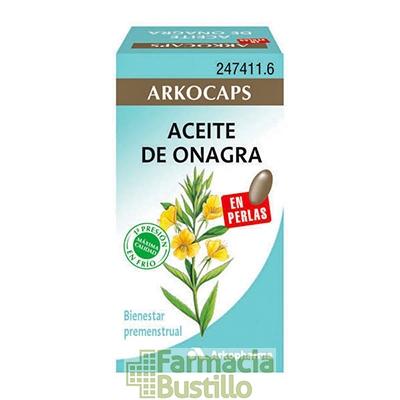 Arkocapsulas Aceite de Onagra y Vitamina E 50 perlas