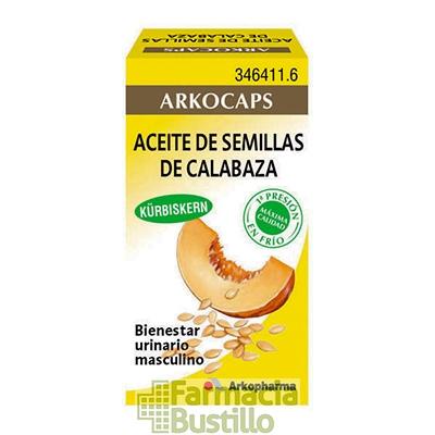 Arkocapsulas Aceite de Semilla de Calabaza 400mg 50 capsulas