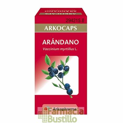 Arkocápsulas Arandano Envase de 45 cápsulas