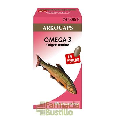 Arkocapsulas Omega 3 (520mg Aceite de Salmón) Envase 50 perlas