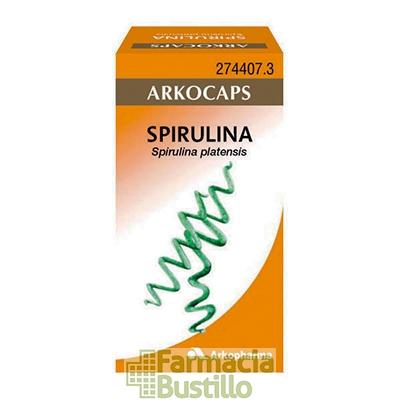 Arkocápsulas Spirulina  Envase de 50 cápsulas