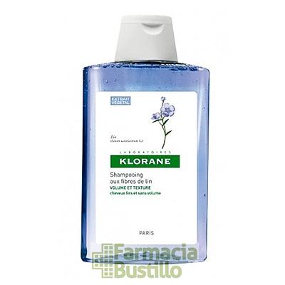 Klorane Champú Volumen y Textura a la fibra de Lino 200ml
