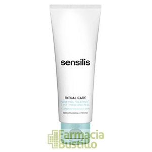 Sensilis RITUAL CARE Tratamiento Purificante 2 en 1 Mascarilla y Expoliante 75ml