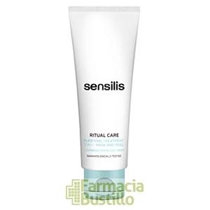 Sensilis RITUAL CARE Tratamiento Purificante 2 en 1 Mascarilla y Expoliante 75ml