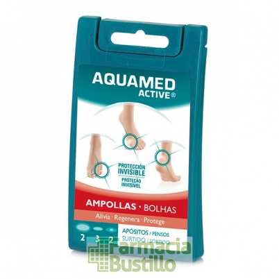AQUAMED Active Ampollas 7 apósitos variados