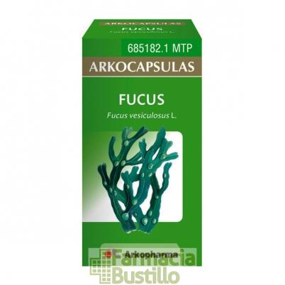 Arkocápsulas Fucus 100mg Envase de 50 cápsulas  CN  685182
