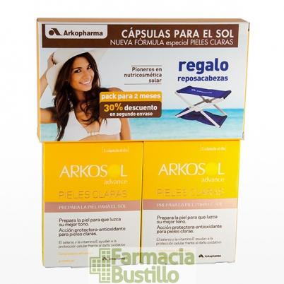 ARKOSOL Advance para PIELES CLARAS DUPLO