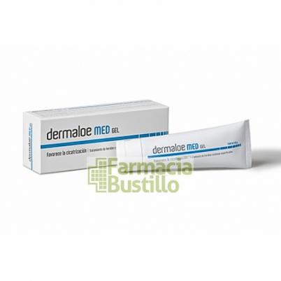 Dermaloe MED 40g gel cicatrizante