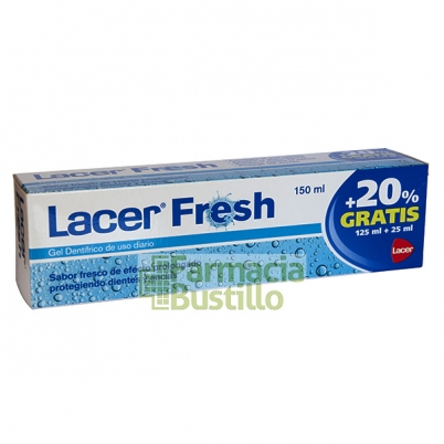 LACER Fresh Gel Dentífrico para el mal aliento 75ml